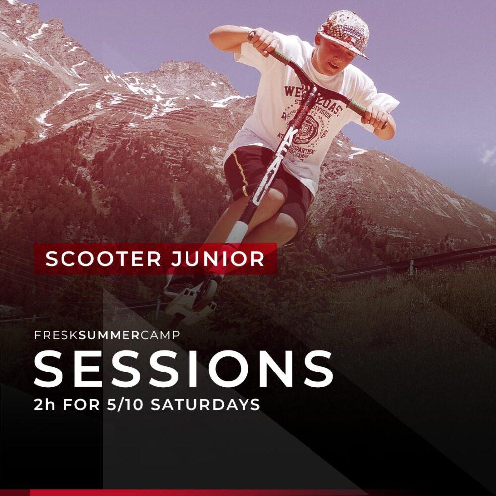 scooter camp 5-10 saturdays session 2 hours junior