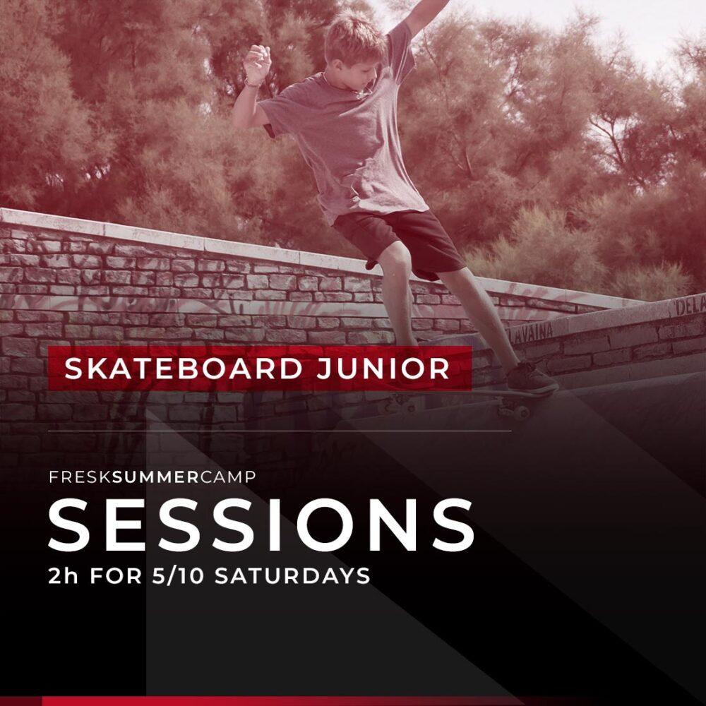 skateboard camp camp 5-10 saturdays session 2 hours junior