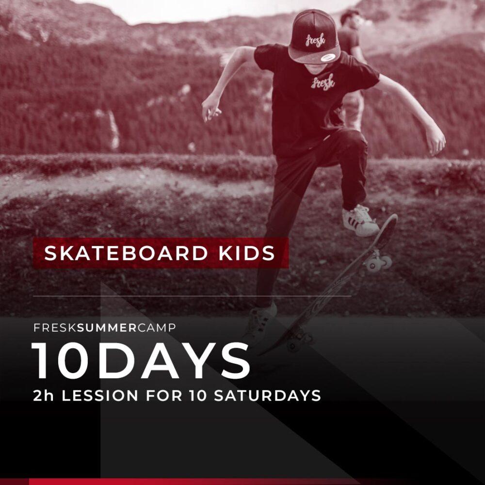 skateboard kids camp engadin