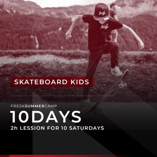 skateboard kids camp engadin