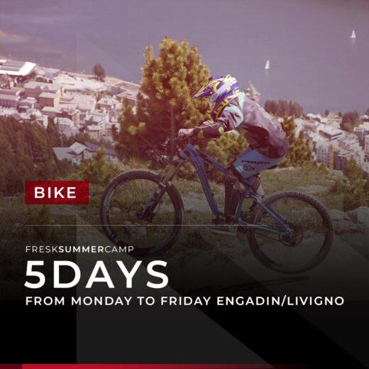 bike week camp engadin and livigno