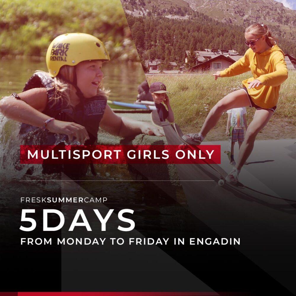 girls multisport camp week margna sils