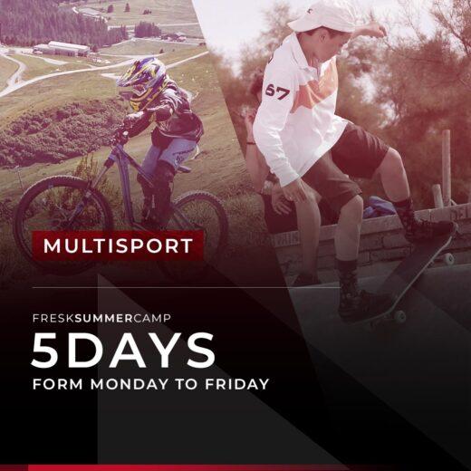summer camp 5 days multisport