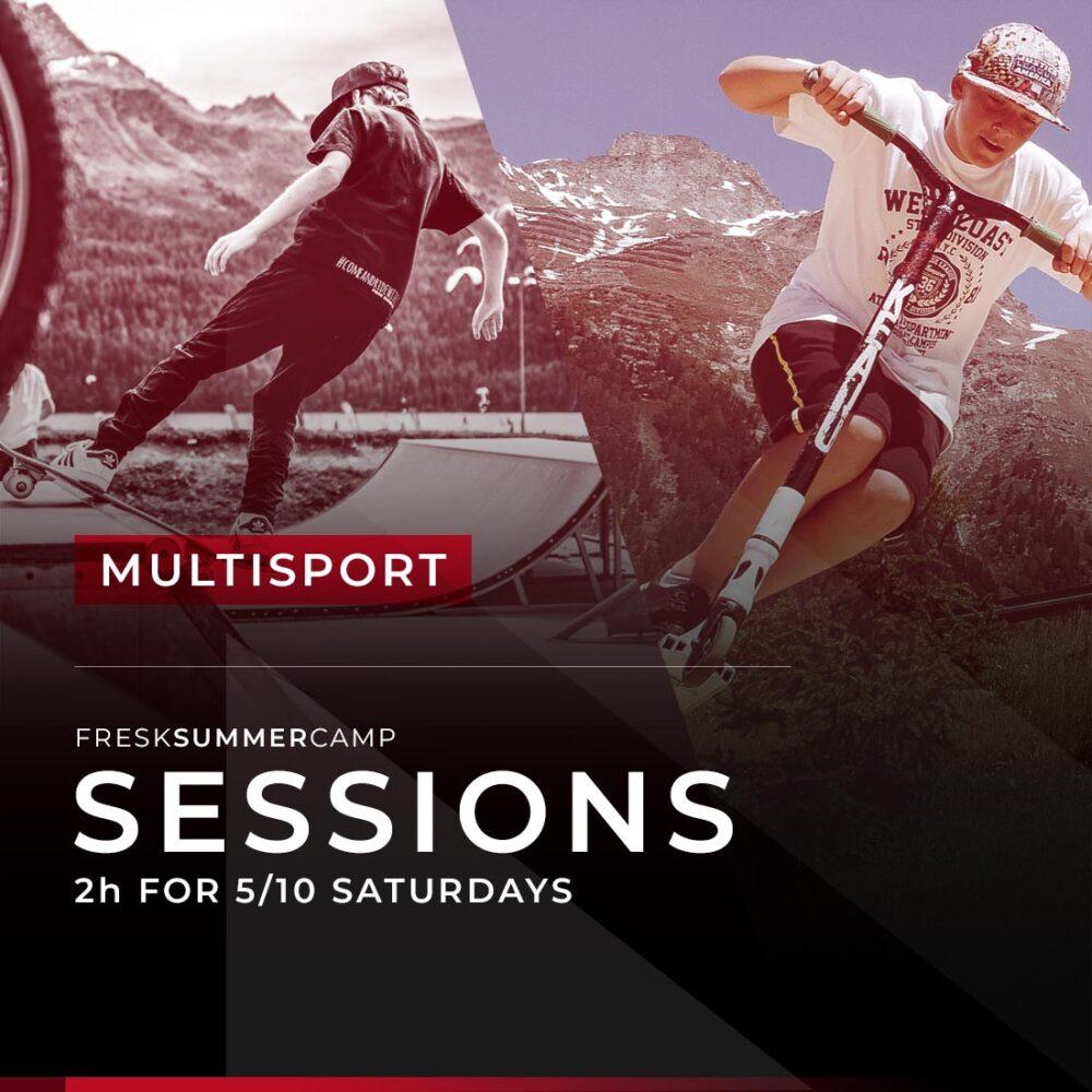 multisport freestyle camp 5-10 saturdays session 2 hours junior