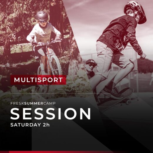 multisport freestyle camp saturday session 2 hours junior
